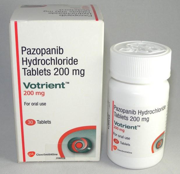帕唑帕尼(pazopanib)在海外医疗临床试验中对不同适应病症的治疗效果怎样?-