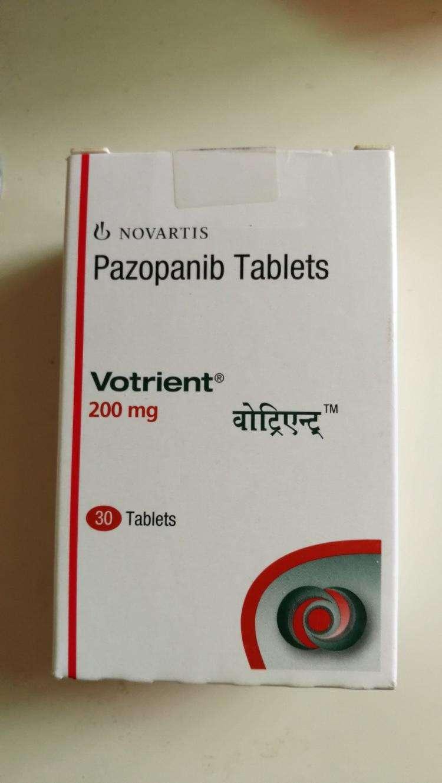无法耐受帕唑帕尼(pazopanib)药副作用能够将剂量下调至多少?-