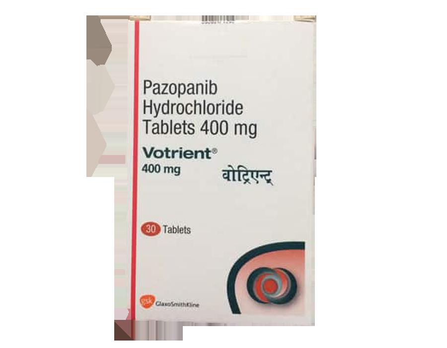 帕唑帕尼(pazopanib)是NCCN指导优先推荐的肾癌一线医治药品-